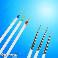 acrylic paint cheap - set Acrylic French Nail Art liner Painting Drawing Pen Brush Tools Cheap