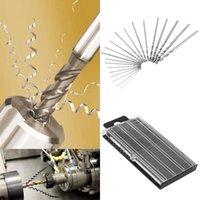 Wholesale New mm mm Mini HSS Micro Steel Twist Drill Bit Set Model Craft With Case Repair Parts