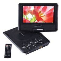 avi format dvd - DBPOWER inches DVD Portable DVD Portatil player with Swivel Screen Support SD Card and USB in Formats MP4 AVI RMVB MP3 JPEG