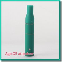 Cheap 2.0ml Ago g5 atomizers Best CE, ROHS clear dry herb vaporizer