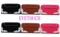 Cheap For Apple iPhone Wholesale cheap crocodile Best Leather Brown red black white brown pin