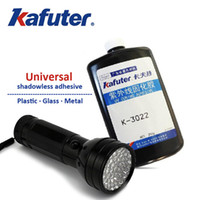 acrylic plastic cement - 1pcsNEW g kafuter K uv glue LED UV flashlight Acrylic glue Plexiglass PVC glue Groups of plastic