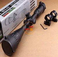 ring size 4 - Original LEAPERS UTG X40 Full Size AO Mil dot RGB Zero Locking Resetting Rifle Scope Hunting Scope mm ring mount