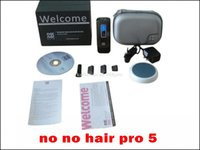 Wholesale No No Hair Pro Pro5 hair Removal System Levels Smart Man Women Hair Epilator for Face and Body Upper Lip no pain no need cream A quality