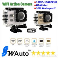 Wholesale Action Camera Full HD DVR Sport DV SJ4000 upgrade version m Wifi receiver P Helmet Waterproof Camera Motor Mini DV SJ5000 car dvr