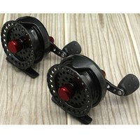 Wholesale 1pc BB Ball Bearings colors Black Silver casting Fly Fishing reels fishing tackle Right left hand changeable