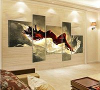 Wholesale Hand Painted Large Sexy Woman Nude Oil Painting Naked Girl Body Piece Canvas Art Set Wall Decoration Home Modern Abstract Picture