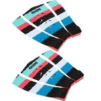 Wholesale Popular Lightweight cm Multicolor EVA Surfboard Deck Grip Tail Traction Pad Board Accessory