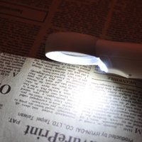 Wholesale New design x plastic glasses lens LED Light Handheld Magnifier Reading Magnifying Glass Lens Jewelry Loupe