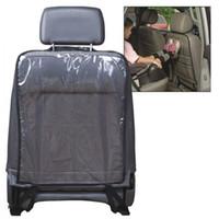auto pvc mat - Pro Hot sale Kids Car Auto Seat Back Protector Cover For Children Kick Mat Mud Cleaner Black Blue