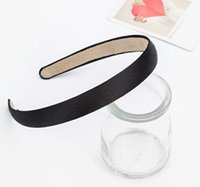Wholesale fine hair hoop han edition cloth headdress new head hoop fashion girl pure color contracted hairpin