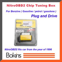 Wholesale Gasoline Version NitroOBD2 Benzine cars gasoline Plug and Drive Nitro OBD2 Benzine Performance Chip Tuning Box
