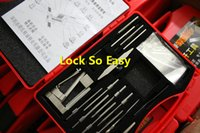 Wholesale Locksmith Tools HUK Newest High Quality th Generation Tinfoil Swinging Lock Pick Sets Locksmith Supplies