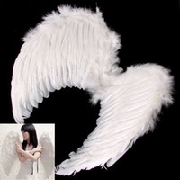 accessories nativity - Kids Fairy nativity Angel Wings Costume Fancy Dress Up Costume White Feather cm