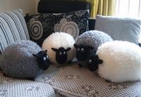 sheep plush - 30CM Shaun The Sheep funko pop Stuffed plush toys Cushion Pillow toy Love s kids toys for children christmas gift HX