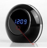 Precio de Cámara espía venta caliente-DVR vendedor caliente de la tabla del escritorio Reloj despertador oculta espía cámara de detección de movimiento con control remoto