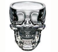 Wholesale 2014 Creative Skull Cup Crystal Skull Cup Home Bar Drinking Ware Crystal Skull Head Vodka Whiskey Shot Glass Cup SKull Mugs