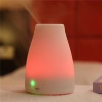 Wholesale Portable Aroma Diffuser LED Night Light Humidifier Fresh Air Spa Mini Cute Unique for Sale LM