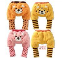 Cheap Wholesale-2015 HOT wholesale free shipping 9pcs lot yuelinfscotton pp pants,baby winter pants,toddler baby legging,infant wear