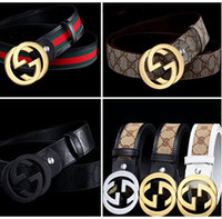 fashion belts - New Fashion belt buckles Men s Belt Genuine Leather Belts Leique Texture belt leather men Wide Belts for men women G belts guc cifullying