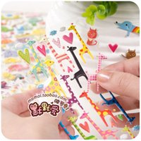 Wholesale Silent love cute little children in Japan account sticker DIY album diary hand stickers stickers Korea mobile phone account