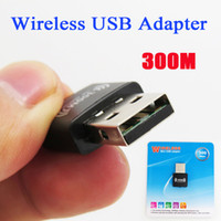 Wholesale 300M Wireless mini USB Adapter Repeater n b Mbps USB Wireless Lan Adapter Wifi Wireless Network Card Adapters with retail packing