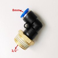 Wholesale 10pcs Male Elbow Pneumatic Fitting mm G1