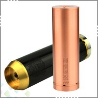 Cheap Best 26650 Chi You Megan Mod Stailnless Steel Black Red Copper Chiyou Megan Mechanical Mods fit 26650 battery DHL Free