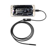 Wholesale 7mm M USB Cable Inspection Camera Waterproof LED Android Endoscope CMOS Mini USB Endoscope for android PC