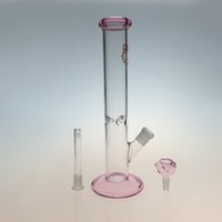 Wholesale Hello Kitty Smoking Hookah Glass Bong Lovely percolators filter Smoking Pipe Glass Height cm Water Pipe