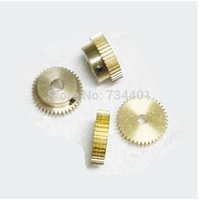 Wholesale 0 m tooth hole metal precision model of micro motor motor DIY small modulus gear rack spot copper