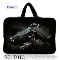 air gun cases - Black Gun Man s Laptop Sleeve Case Bag Pouch Handle For quot inch quot Macbook Pro Air