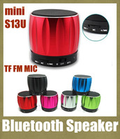 blue tooth - high portable wireless mini bluetooth speaker S13U blue tooth speaker mp3 pc speaker multifunction FM radion amplifier subwoofer MIS019