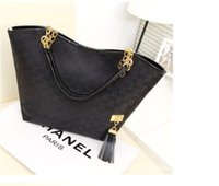 Wholesale Fashion plain luxury lady handbags two straps shoulder bags canvas messager leather bags sporting handbag for women Winter tote bags