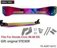 Wholesale TANSKY JDM neo chromatic Rear Subframe Bar Lower Tie Bar FOR HONDA CIVIC EK TK ASRT EK7C