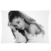 actress best - Actress and Singer Ariana Grande Best Family Gift x75cm Pillow Cover For Room Soft Bed Sleep Pillowcase