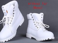 Wholesale tims new genuine leather men boots snow boot Martin boots leather boots man woman Outdoor waterproof shoes