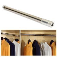 adjustable shower rods - Adjustable Tension Rod Door Curtain Stainless Bathroom Shower Closet Retractable order lt no track