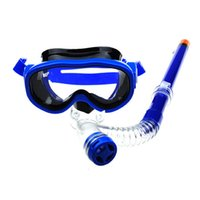 Wholesale Children Swimming Goggles Semi dry Snorkel Equipment