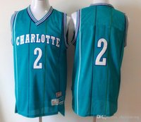 fine clothing - The finest mesh lue of new Printing Hornets JOHNSON outdoor sports basketball clothes