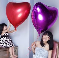 yiwu market - SMILE MARKET Best Selling Wedding Party Decorations Self Sealing Inflatable Helium Metallic Heart Shaped Balloons