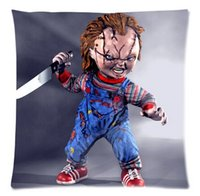 Wholesale Scary Chucky Doll pillowCase Cover X Inch Two Sides