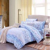 Wholesale Single Double Queen King Love Flower Duvet Quilt Cover Pillow Case Bedding Set