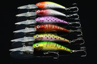Wholesale New Fishing tackle colors CM G laser Minnow fishing lures fishing bait Baits Lures
