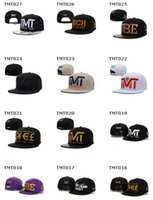 fitted hats - snapbacks caps for men fitted hats baseball hip hop panel TMT caps sport team caps winter snapbacks fashion adjustable gym training caps