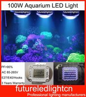 aquarium pendant lighting - D100 W Full Spectrum Pendant LED Aquarium Light New Coral Reef w LED Aquarium lighting Fish Tank LED Lights