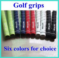 Wholesale 2015 HOT Golf Pride Grips For Golf Clubs Driver Irons Grip Color Golf Clubs Rubbers Accept Mix Order DHL