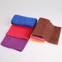 Wholesale Superfine fiber super absorbent towel car cleaning clean towels mixed batch washing