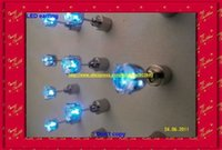 Wholesale hip hop pendant pairs a battery include led light include can change the battery