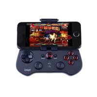Wholesale Ipega Wireless Bluetooth Game BT Controller Multimedia Gamepad Stand Joystick for Android iOS PC ipod iPhone Samsung Galaxy PG S
